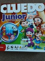 JUNIOR CLUEDO THE CASE OF THE MISSING PRIZES GAME HASBRO 2012
