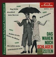 """DAS WAREN NOCH SCHLAGER-ZEITEN ... 1 FOLGE (German 7"""" EP in PS)"""