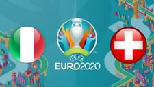 2x Euro 2020 EM Tickets Biglietti Italia Svizzera 17/06/2020 Rome