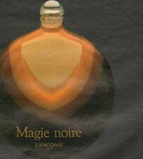 Publicité Advertising 1978  Parfum Magie Noire de LANCOME