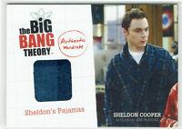 The Big Bang Theory Seasons 1 & 2 Wardrobe Costume Card M18 Sheldon's Pajamas