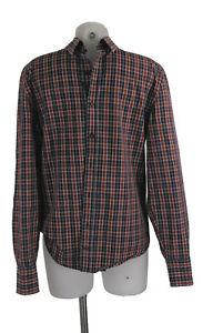 Drykorn Hemd in M kariert rot blau weiß 100% Baumwolle Shirt wie neu
