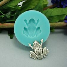 Frog Flexible Silicone Mold  for Crafts,Jewelry,Resin,Scrapbooking,Polymer Clay.