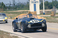 AC Cobra - Dan Gurney in action 1963 12 Hours of Sebring - AC Cobra - Shelby
