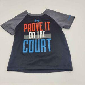 Under Armour Heat Gear Boys Size 12 Month Tshirt Infant Basketball