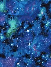 Space Fabric - Galaxy Star Nebula Allover C4847 - Timeless Treasures YARD