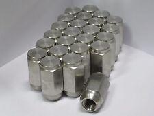 24 pack - 1/2-20 Solid 304 Stainless Steel Lug Nuts trailer wheel