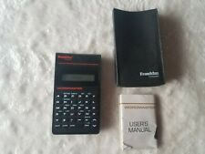 Franklin Wordmaster Electronic Dictionary WM-1200 with Soft Case and Manual