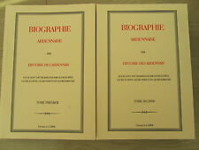 BOULLIOT Biographie Ardennaise... Ardennes 2 volumes 1024 pages 2002 TTB