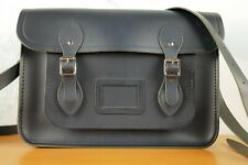 VINTAGE The Cambridge Satchel Company MIDNIGHT BLUE Leather Bag GREAT BRITAIN