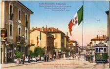 1928 Ponte Chiasso Caffè Ristorante Stazione Tram Como Cernobbio FP COL VG ANIM