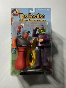 McFarlane Toys The Beatles: Yellow Submarine George with Snapping Turk New 2000