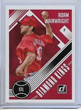 2018 Donruss Adam Wainwright Diamond Kings Card