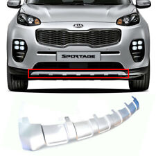 Front Bumper Lip Cover Skid Plate Silver OEM Parts For Kia 2016-18 Sportage