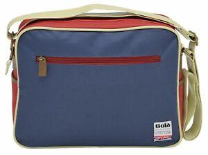 Gola Redford Umhängetasche Tasche Navy / Red / Brown Blau Erwachsene Neu