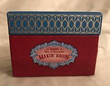 Mini Box of BACON Recipes STUDIO OH! 20 Illustrated Recipe Cards GREAT GIFT