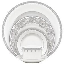 Waterford China Lismore Lace Platinum 60Pc China Set, Service for 12