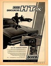 1969 DODGE CHARGER R/T - CORVETTE  ~  NICE DIXCO MUSCLE CAR AD