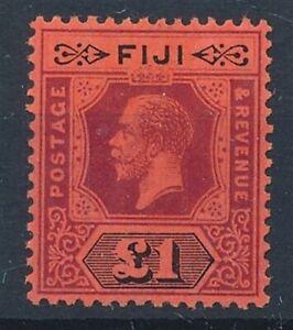 [56263] Fiji 1914 Very good MH Very Fine stamp $350