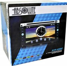 "Absolute AVH650BT 6.1"" LCD Double Din DVD / CD / MP3 / USB / BLUETOOTH / TOUCH"