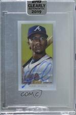 2019 Topps Clearly Authentic T206 Design /50 Ozzie Albies #Ta-Oa Auto