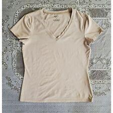 Women's Apartment 9 Nylon Neutral Beige Tee shirt