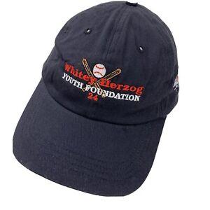 Whitey Herzog Youth Foundation #24 Ball Cap Hat Adjustable Baseball Adult