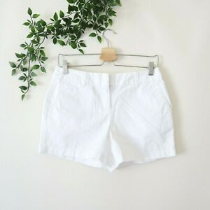 "NEW Ann Taylor LOFT Women's 4"" Chino Shorts Size 0 White"