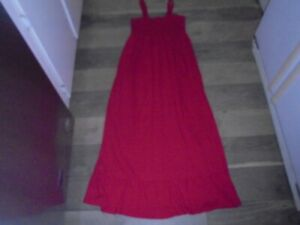 Old Navy Maternity pink maxi dress size M