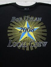 BOB DYLAN santa barbara 2008 concert CREW size XL T-SHIRT
