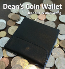 Dean's Coin Wallet by Dean Dill and Alan Wong ships from Murphy's Magic