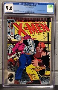 UNCANNY X-MEN #183 CGC 9.6 - JUGGERNAUT APPEARANCE & NEW VILLAIN INTRO