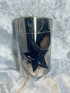 Thierry Mugler A men metal rechargeable 100ml edt Pre Owned 70% Left In Bottle