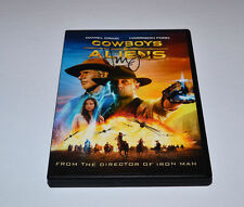 COWBOYS & ALIENS  DVD Autograph HARRISON FORD Rare!