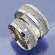 Eheringe | Partnerringe | Titan mit grauem Carbon Trauringe P9224630