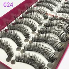 NEW 10 Pair 3D Women Mink False Eyelashes Long Thick Soft Fake Eye Lashes