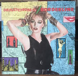 "Madonna ~ Borderline ~ 7"" Vinyl Single 1986"