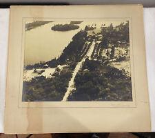 VinVery Large 1930s Frank Turgeon Aerial Photograph CASA ALVA Palm Beach #3