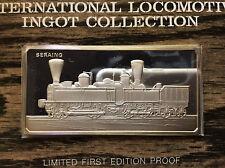 1974 Franklin Mint 1851 Seraing Locomotive Sterling Silver Ingot A4535