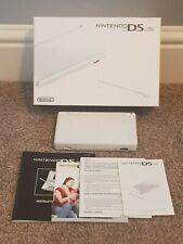 Nintendo DS Lite - Polar White, With Original Box