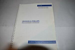 GRANVILLE PHILLIPS Serie 358 Micro-Ion Vacío Medida USUARIO Manual (M420)