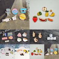 Fashion Lovely Cute Cartoon Enamel Lapel Collar Pin Corsage Brooch Jewelry Gifts