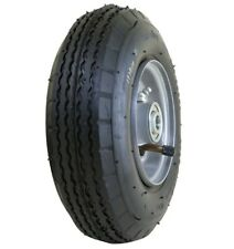 "2pk Marathon 2.80/2.50-4"" Pneumatic Tire Wheel 3"" Centered Hub 5/8"" Precision BB"