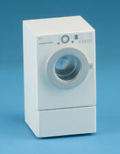 Dollhouse Miniatures 1:12 Scale Modern Front Load Dryer, White #CLA10913