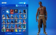 New listing OG FN Account 62 Skins   Travis Scott   Reaper   Omega  Only PC