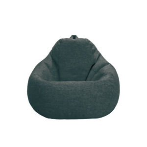 Large Beanless Bean Bag Thick Cotton Flannelette No Odor Washable Chair Couch  S