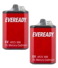 3X 6V EVEREADY 6V BATTERY 4R25 996 TORCH LANTERN ENERGIZER ORIGINAL - PJ996
