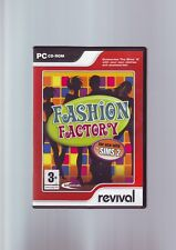 FASHION FACTORY - FOR USE WITH THE SIMS 2 PC GAME ADD-ON - CUSTOMISE OUTFITS VGC