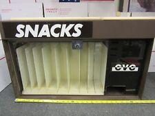 Vintage Non-Electric Snak-Stix Cvc Snacks Machine 50 Cent w/ Key - Pickup Only!