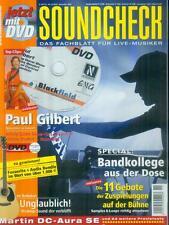 Soundcheck 2005/11 (Mit DVD) Paul Gilbert